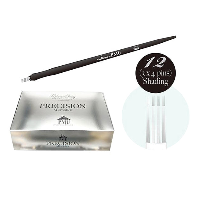Precision Microblade - The House of PMU - #3x4 Shading (pack of 20pcs)