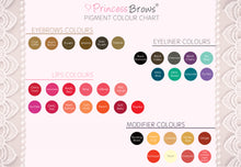 Load image into Gallery viewer, Princessbrows Pigment- Black Cherry