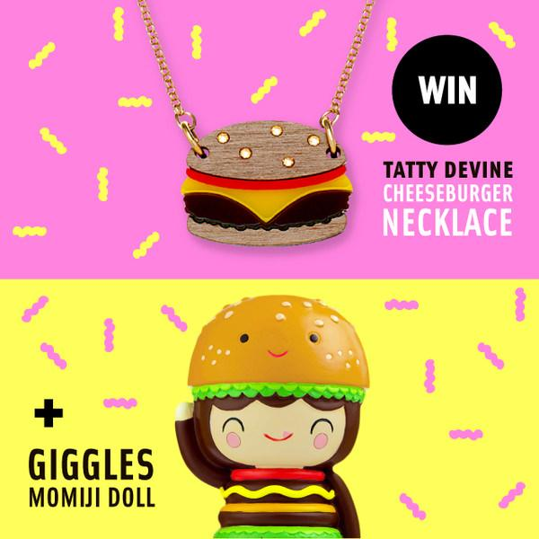 Become a Tatty Devine Burger Queen!