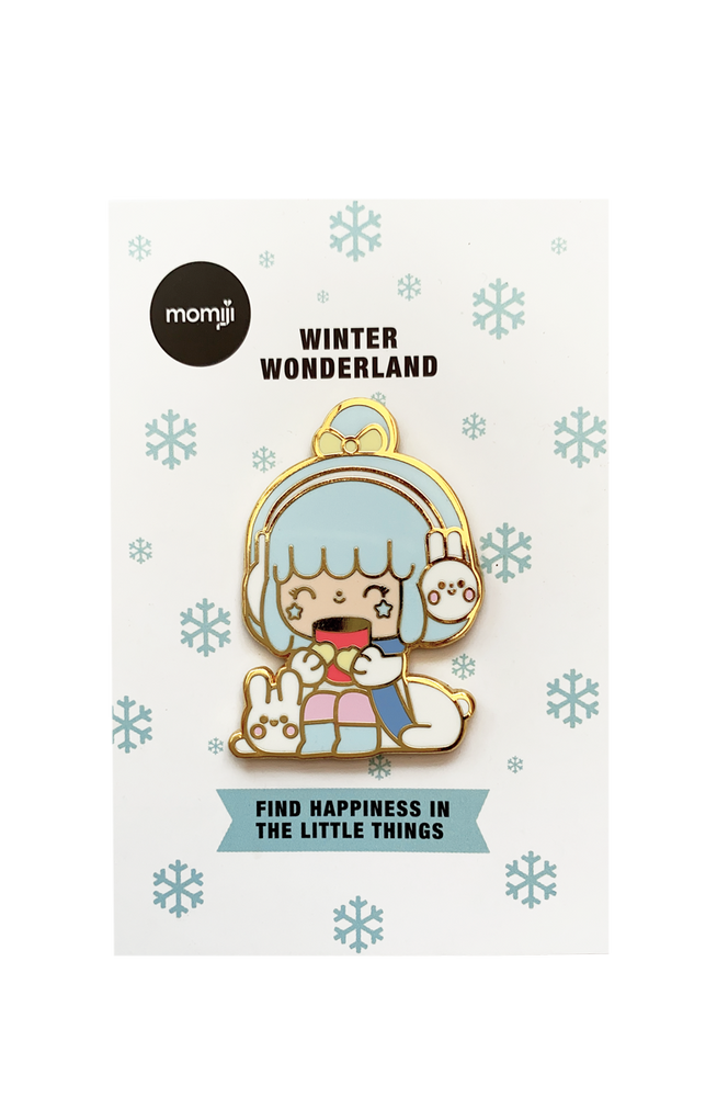 Winter Wonderland Pin