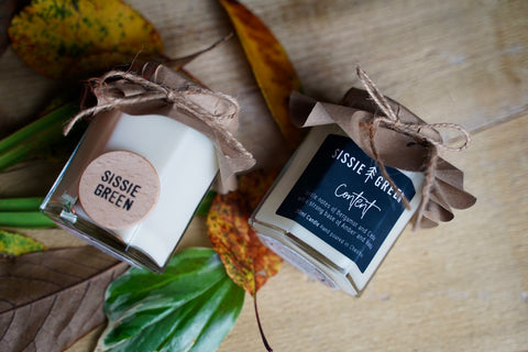 Sissie Green Candles