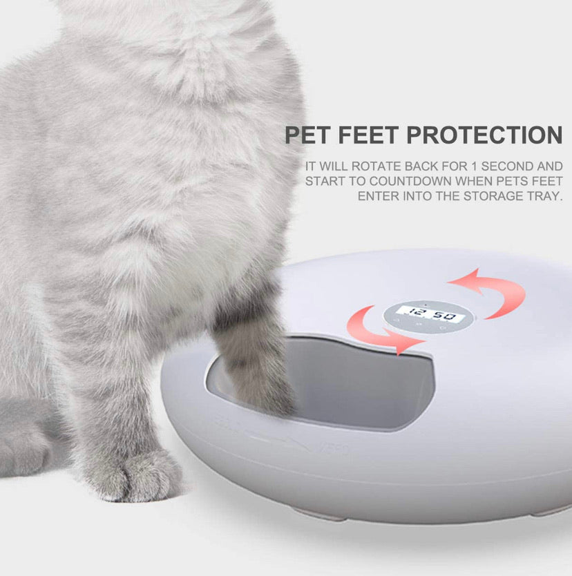 Automatic Pet Dog Cat Feeder with Programmable Digital Timer