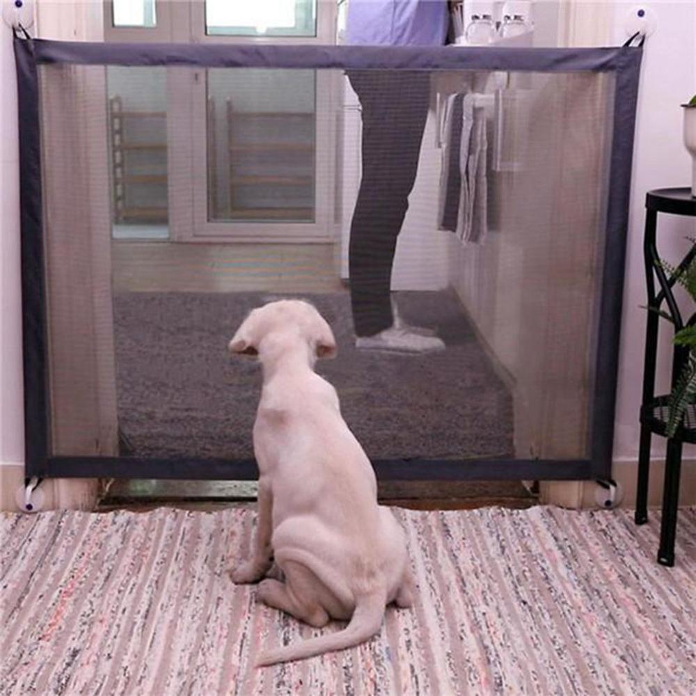 Dog Safety Gate | Pet Dog Fence Gate Safe Guard | Safety Enclosure Dog Fence