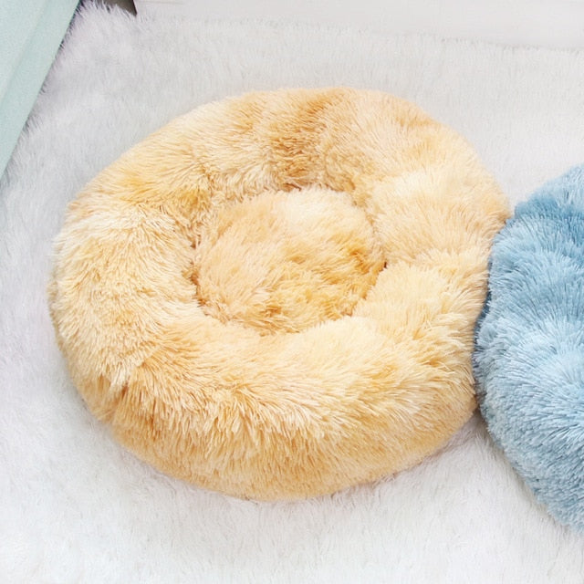 Super Soft Donuts Cuddler For Cats | Pet Bed Sleeping for Cats | Comfortable Kitten Sofa