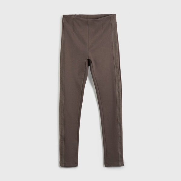 Suede Band Pants