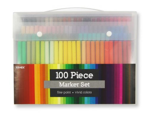 100 Piece Marker Set