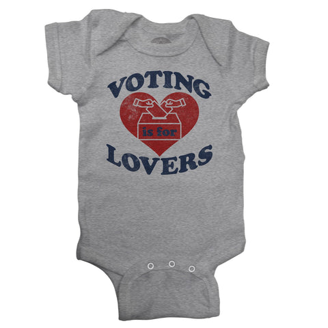 Voting is for Lovers Onesie
