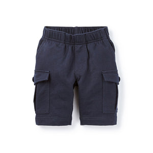 French Terry Cargo Shorts in Heritage Blue