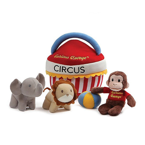 Curious George Circus Playset