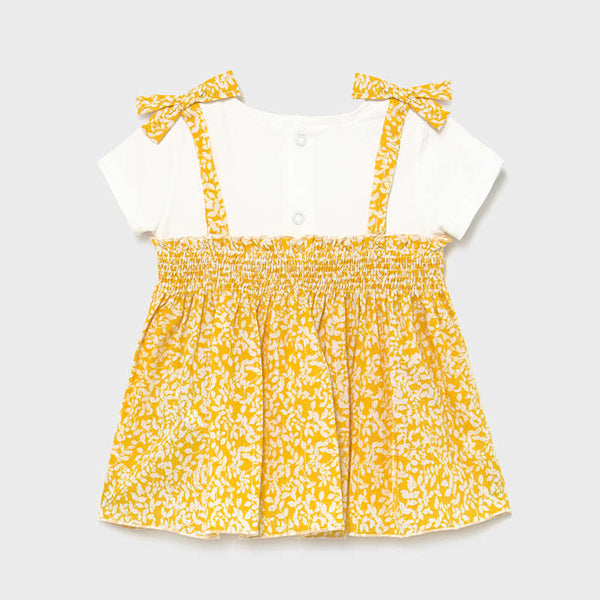 Gold Sparkle Smocked Top
