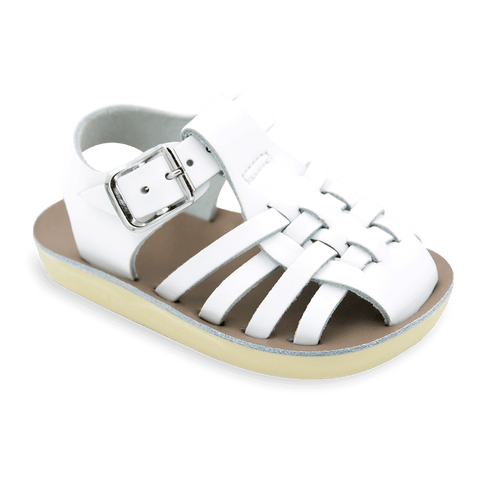 Sun-San Sailor Sandals in White