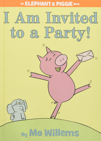 Elephant & Piggie I'm Invited To Party