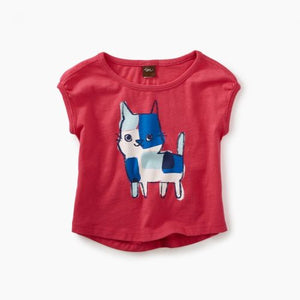 Calico Kitten Graphic Baby Tee
