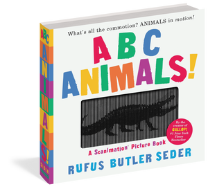 ABC Animals!: A Scanimation Picture Book