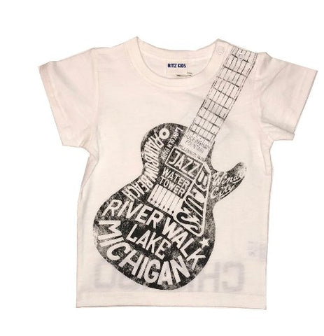 Chicago Guitar Tee