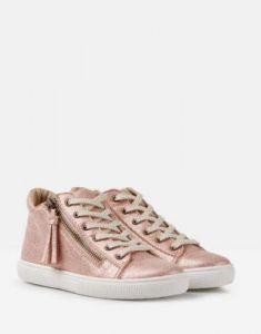 Runaround Hi Top in Rose Gold