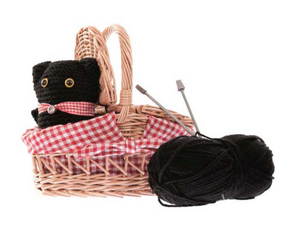 Cat Knitting Kit