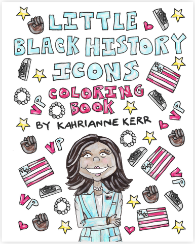 Little Black History Icons Coloring Book