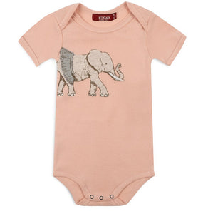 Elephant Applique Bodysuit