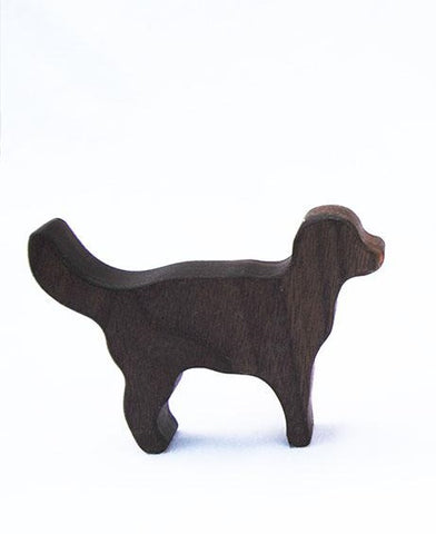 Dog Wooden Rattle