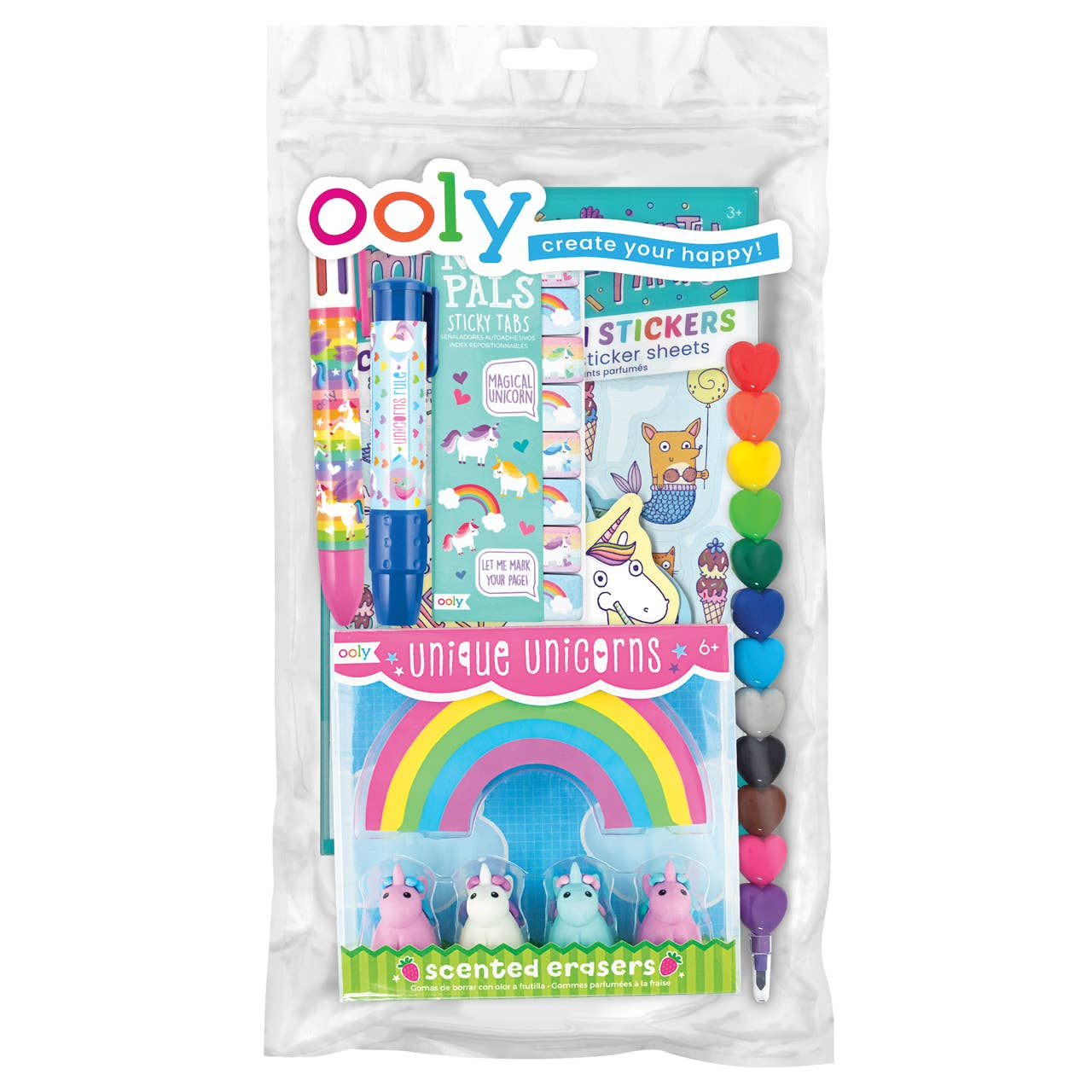 Oh My! Unicorns and Mermaids Happy Pack