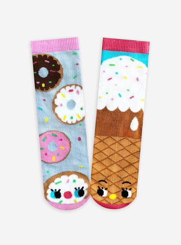 Donut & Ice Cream Pals Socks