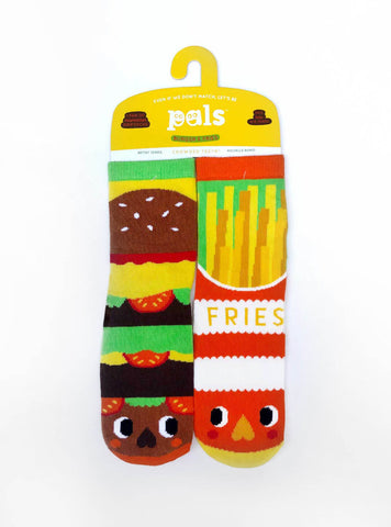 Burger & Fries Pals Socks