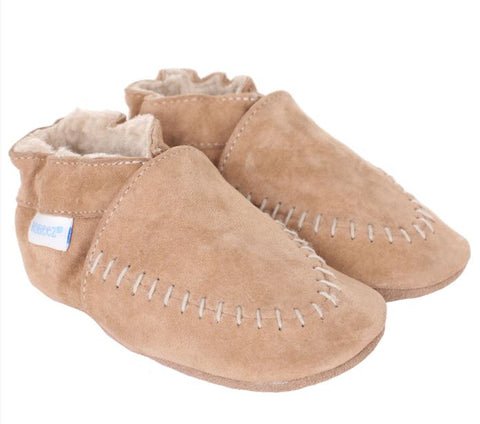 Cozy Mocs in Beige