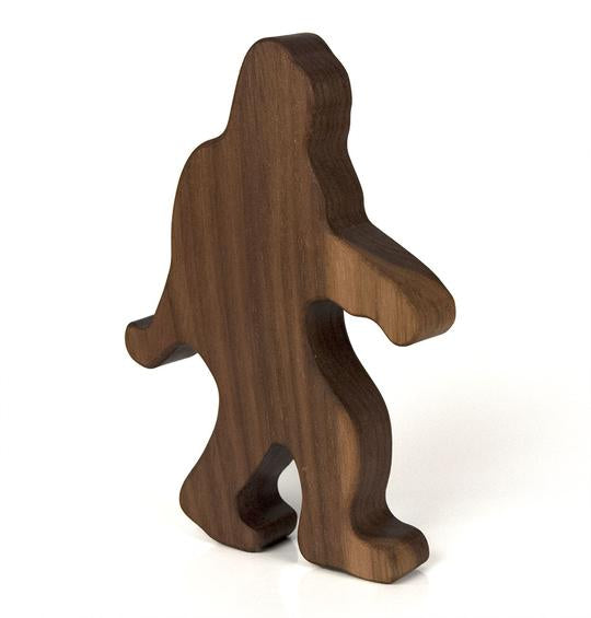 Big Foot Wooden Rattle