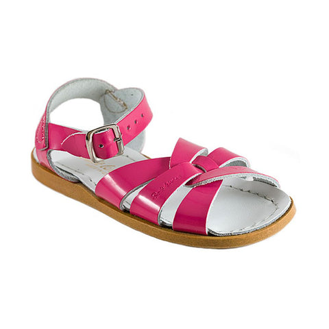 Saltwater Sandal in Fuchsia Shiny