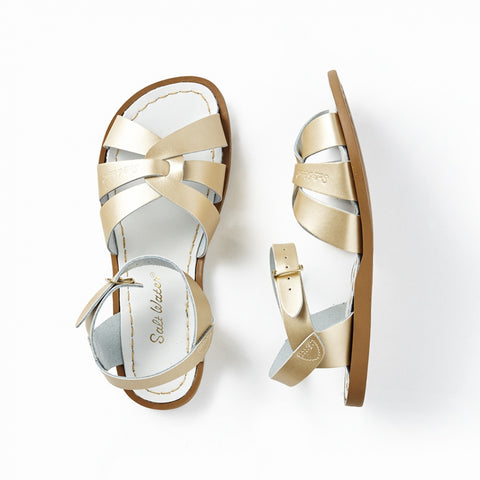 Saltwater Sandal in Gold