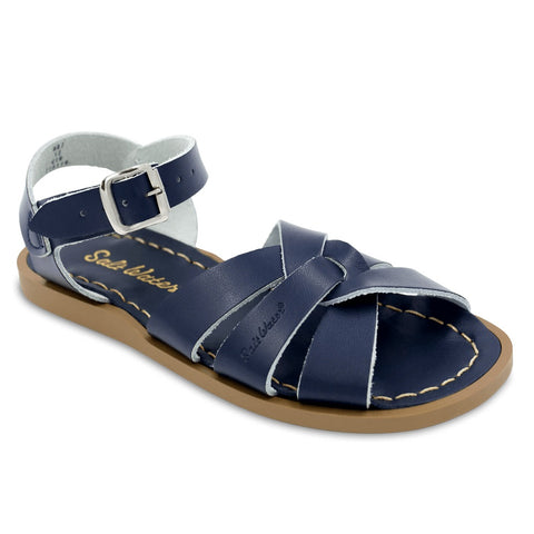 Saltwater Sandal in Navy