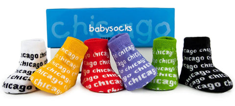Chicago Baby Socks