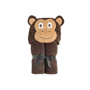 Monkey Hooded Towel