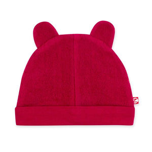 Cozie Fleece Hat in Cranberry