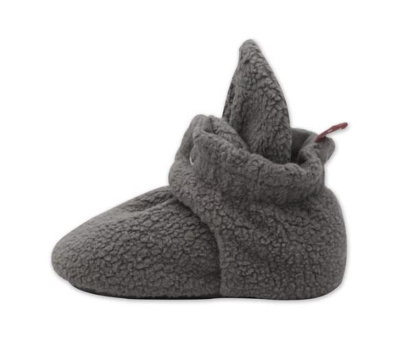 Cozie Fleece Booties in Gray