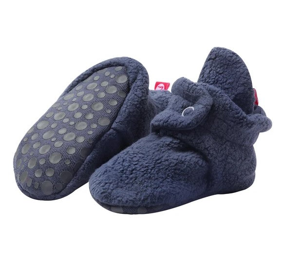 Cozie Fleece Bootie in Denim Navy