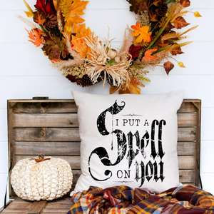 Open image in slideshow, Spell on You Halloween Pillow