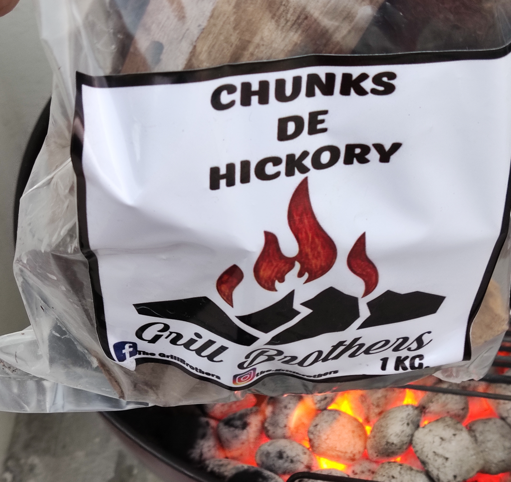 Chunks de Hickory