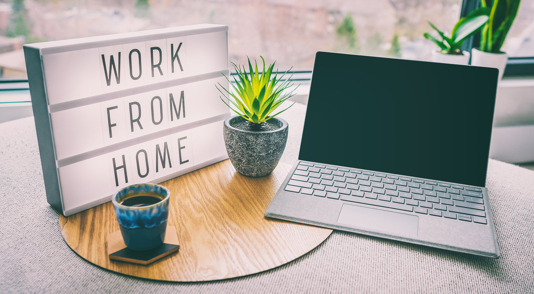 The challenges of working from home with some remedies
