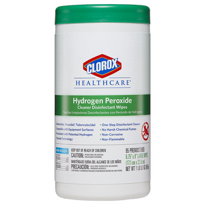 Hydrogen Peroxide Disinfectant Wipes