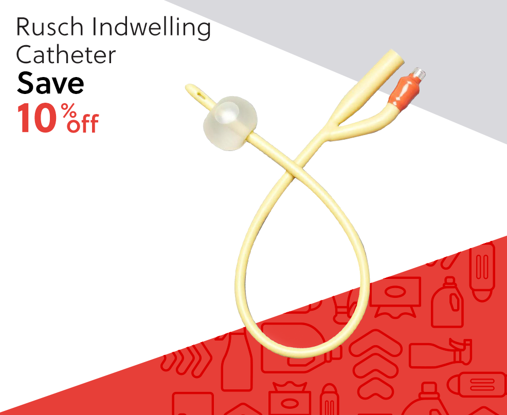 Rusch Indwelling Catheter - Save 10% Off