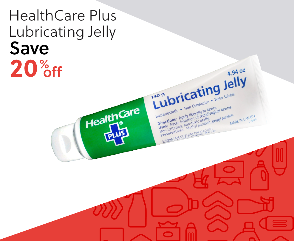 Healthcare Plus Lubricating Jelly - Save 20% off