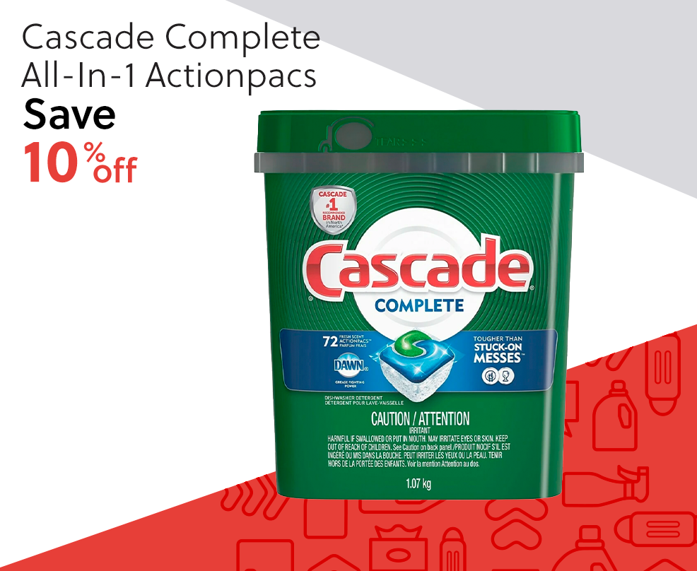 Cascade Complete All-In-1 Actionpacs - Save 10% Off