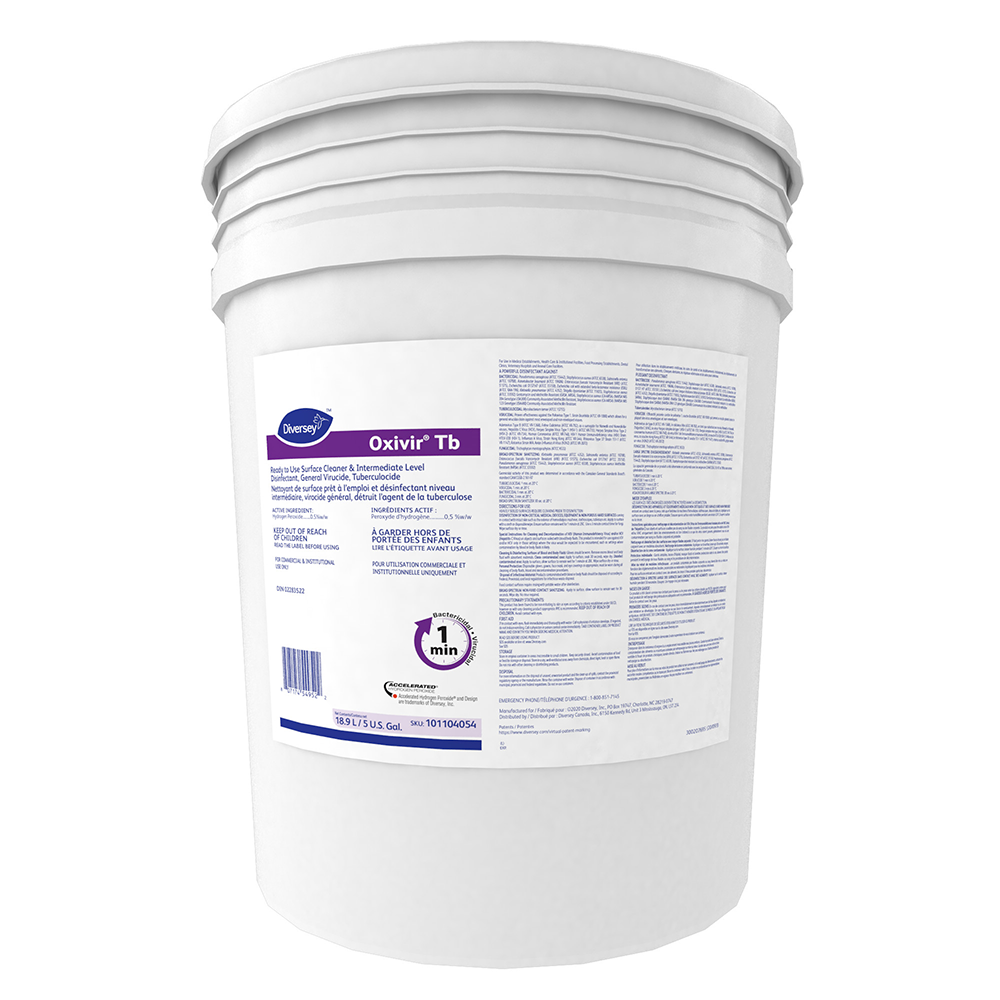 Oxivir Ready To Use Surface Cleaner & Intermediate Disinfectant | 5 Gal