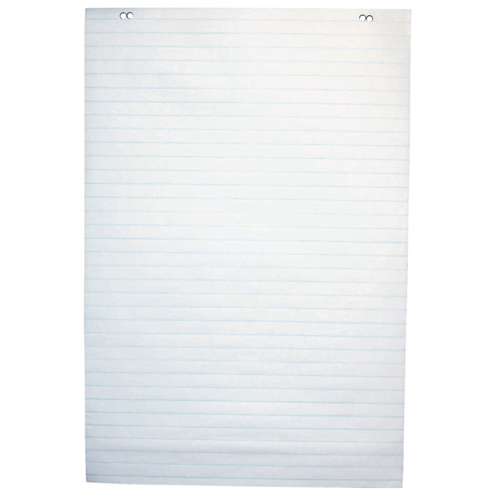 "Iconex Easel Pad | White | 1"" Ruled 