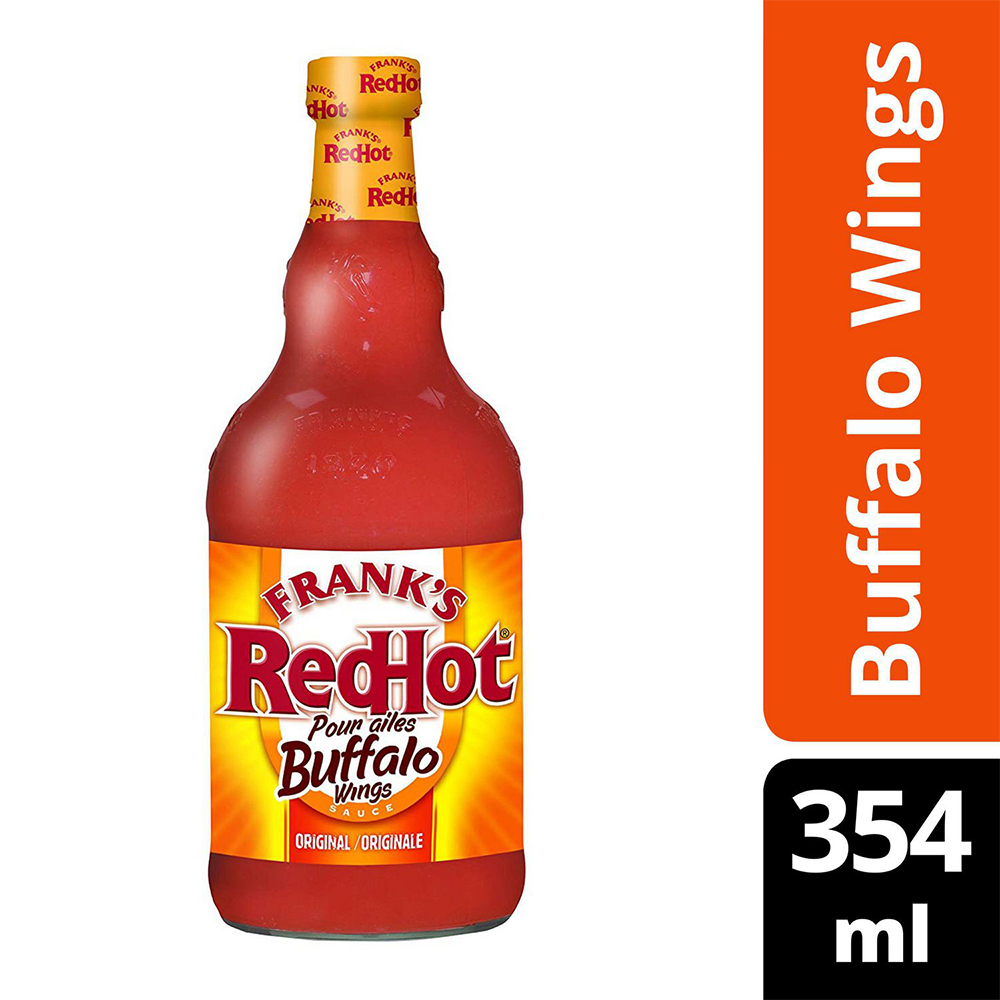 FRANKS RED HOT - BUFFALO WING (354ML)