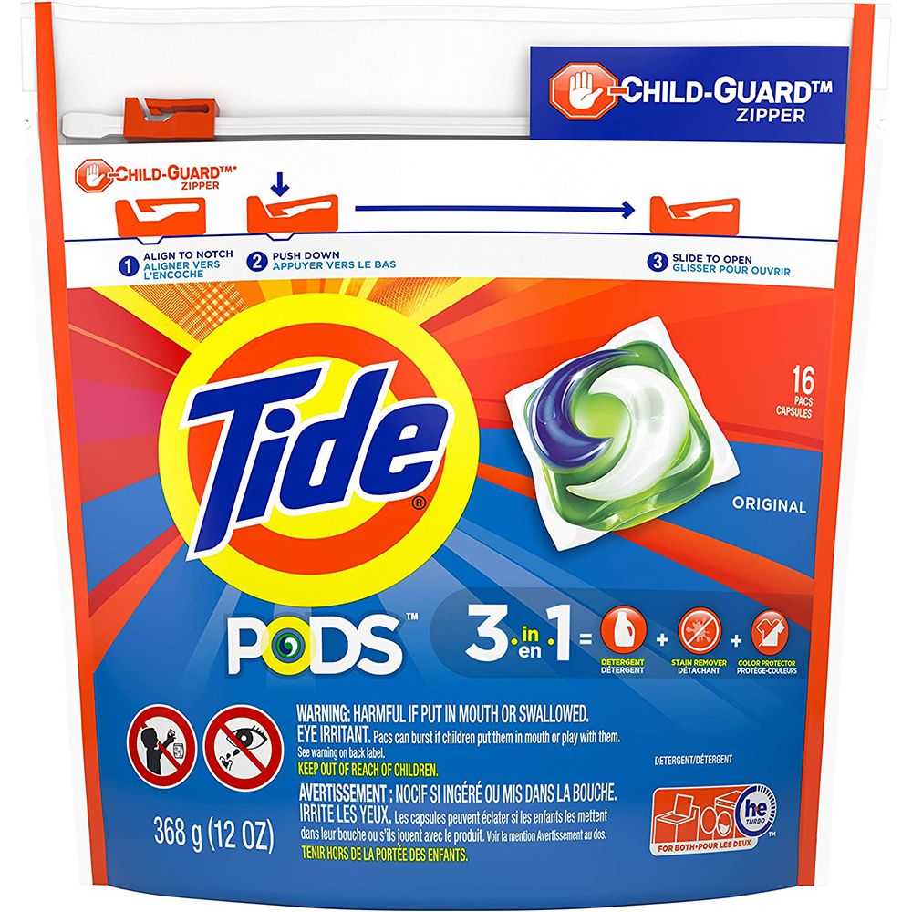Tide Liquid Pods | Original | 16 Pacs
