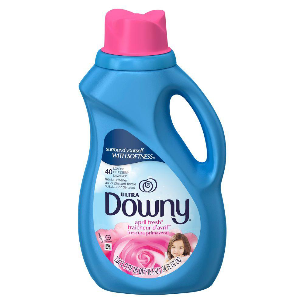 ULTRA DOWNY® APRIL FRESH™ LIQUID FABRIC CONDITIONER (FABRIC SOFTENER).