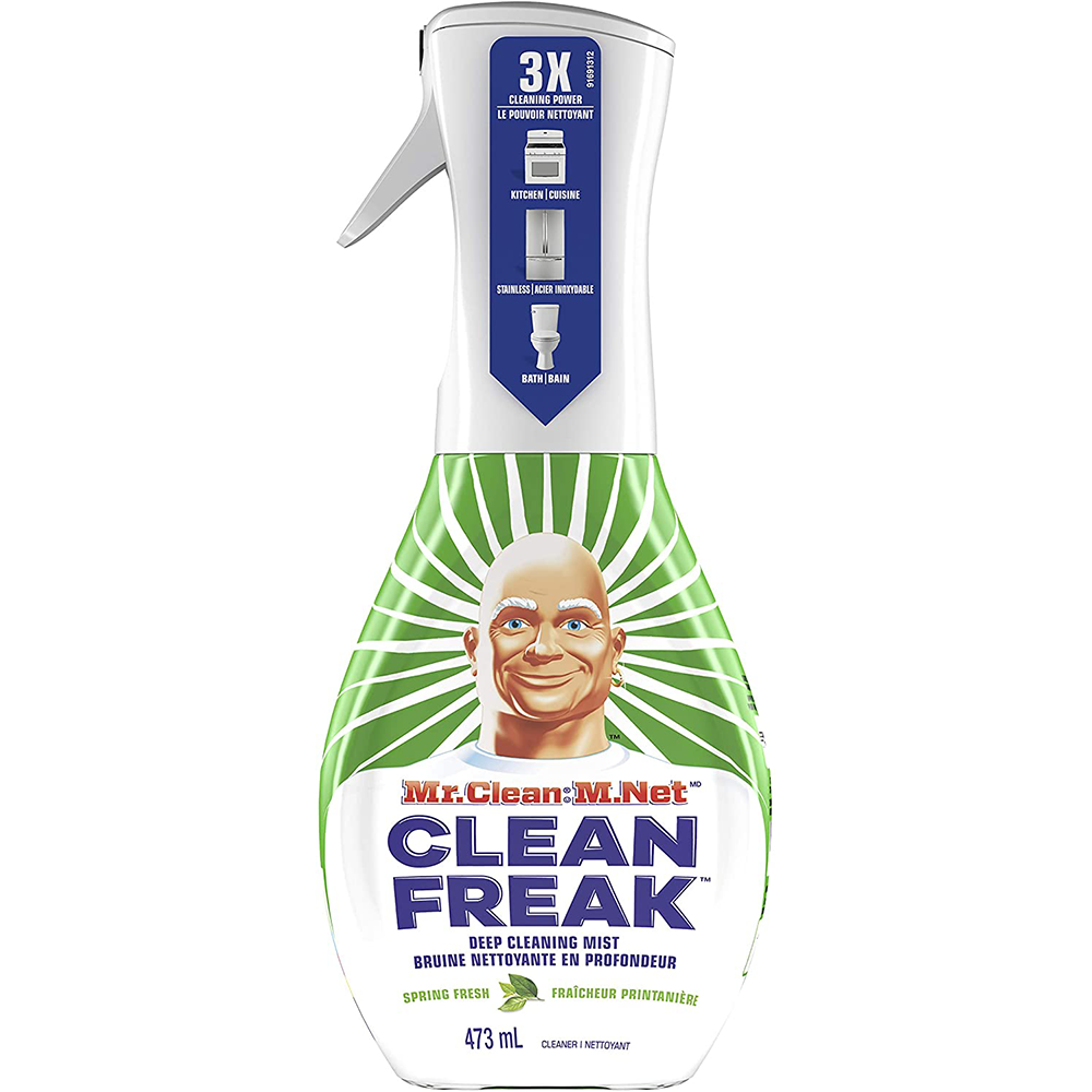 Mr. Clean Clean Freak Deep Cleaning Mist Multi Surface Spray Cleaner | Spring Fresh Starter Kit |  473ml